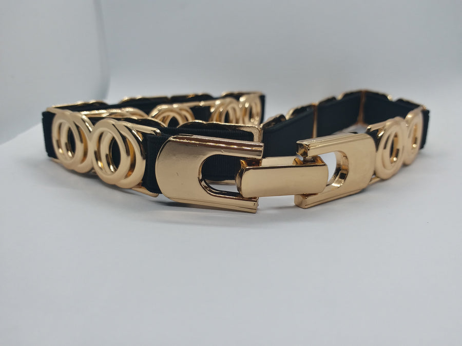 Mantra Pakistan Golden Circle Belt | ACCESSORIES