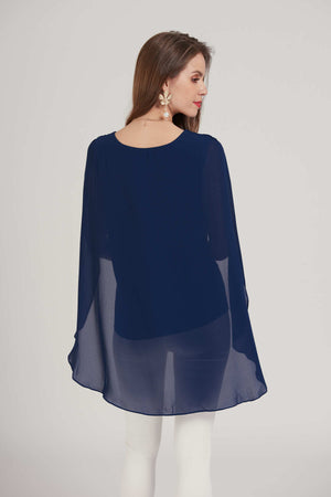 Mantra Pakistan Cape top | TOPS