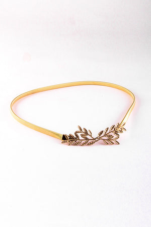 Mantra Pakistan LEAF BUCKLE BELT | ACCESSORIES