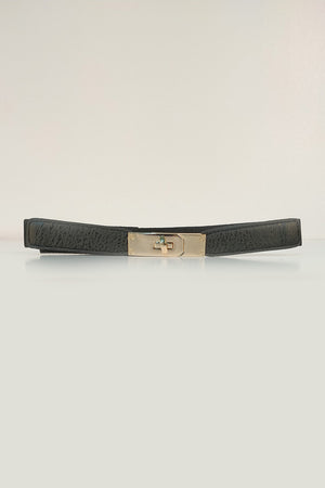 SLEEK BAR BUCKLE BELT