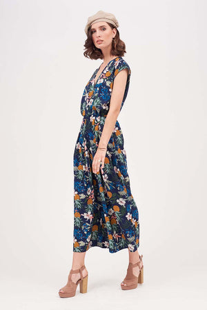 Mantra Pakistan FLORAL PRINTED SUMMER JUMPSUIT | DRESS