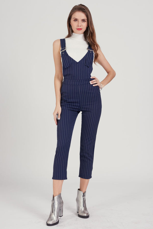 Mantra Pakistan Striped dungaree | DRESS
