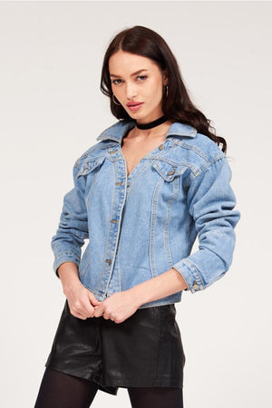 Mantra Pakistan BASIC DENIM JACKET | OUTERWEAR