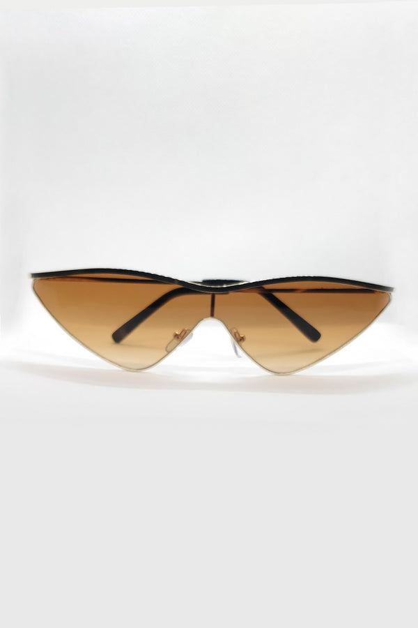 Mantra Pakistan CAT EYE METAL FRAME SUNGLASSES | ACCESSORIES