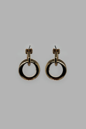 Mantra Pakistan Gold Hoop Studs Chunky Hammered Silver Small Hoops | ACCESSORIES