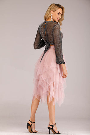 LAYERED PINK TUTU SKIRT
