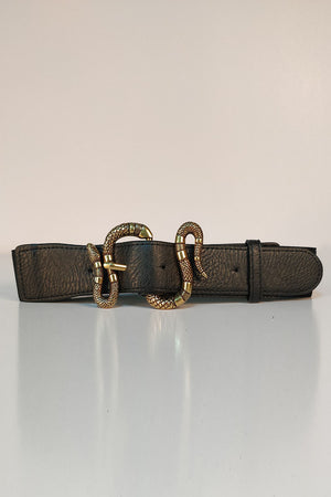 Mantra Pakistan SNAKE BUCKLE BELT | ACCESSORIES