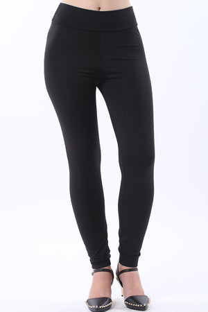 Mantra Pakistan SOLID BLACK TIGHTS | BOTTOMS