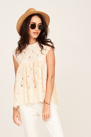 Mantra Pakistan LACE TOP | TOPS