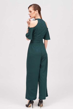 Mantra Pakistan COLD SHOULDER JUMPSUIT | DRESS