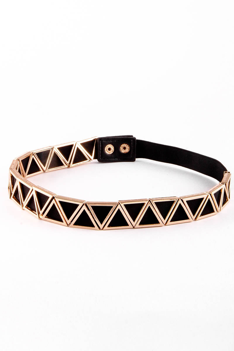 GOLDEN TRIANGLES BELT