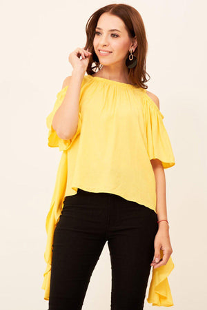 Mantra Pakistan COLD SHOULDER TOP | TOPS