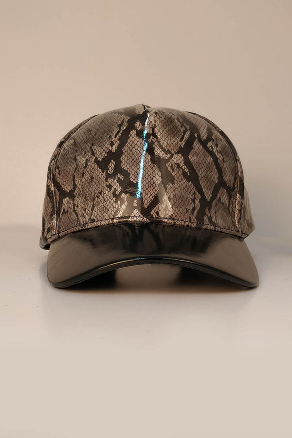 Mantra Pakistan SNAKE PRINTED CAP | ACCESSORIES