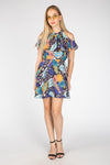 FLORAL PRINT SUMMER MINI DRESS