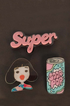 SODA POP PINS