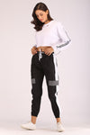 TRACK PANTS WITH REFLECTOR