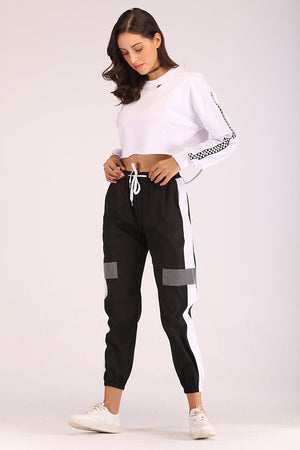 Mantra Pakistan TRACK PANTS WITH REFLECTOR | BOTTOMS
