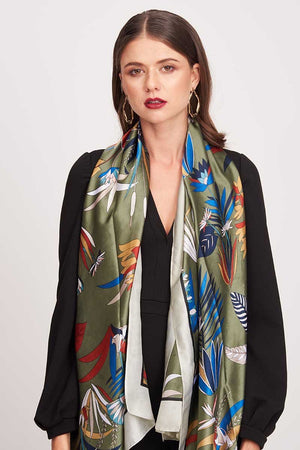 JUNGLE PRINTED SCARF