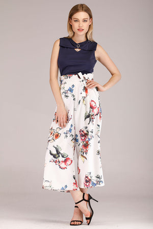BLACK PRINTED PANTS - Mantra Pakistan
