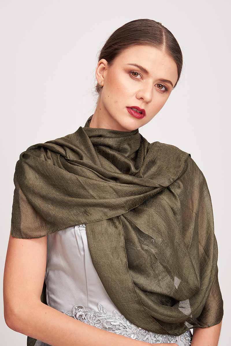 Mantra Pakistan SOLID COLORED SCARF | ACCESSORIES