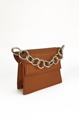 Mantra Pakistan CROSSBODY BAG WITH FANCY CHAIN | ACCESSORIES