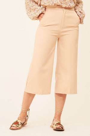 Mantra Pakistan BEIGE FORMAL PANTS | BOTTOMS