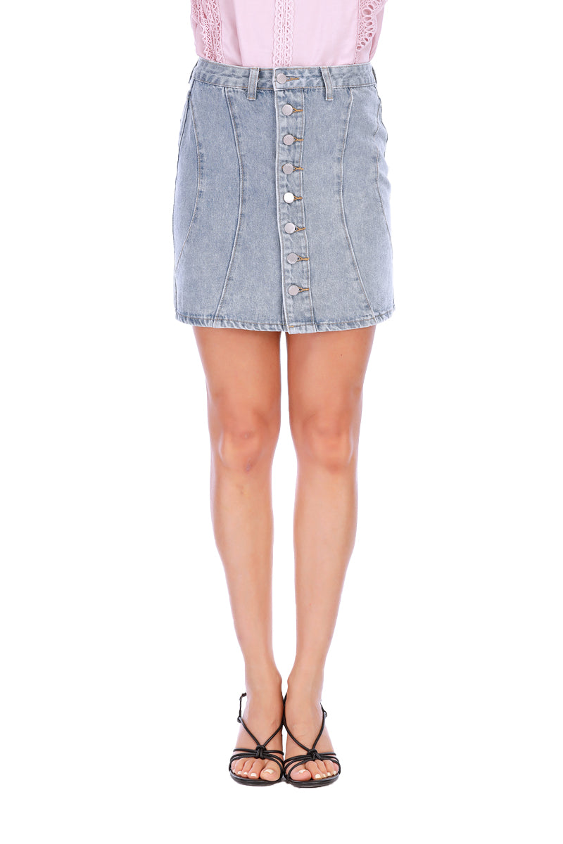 Mantra Pakistan Denim Mini Skirts | SKIRT