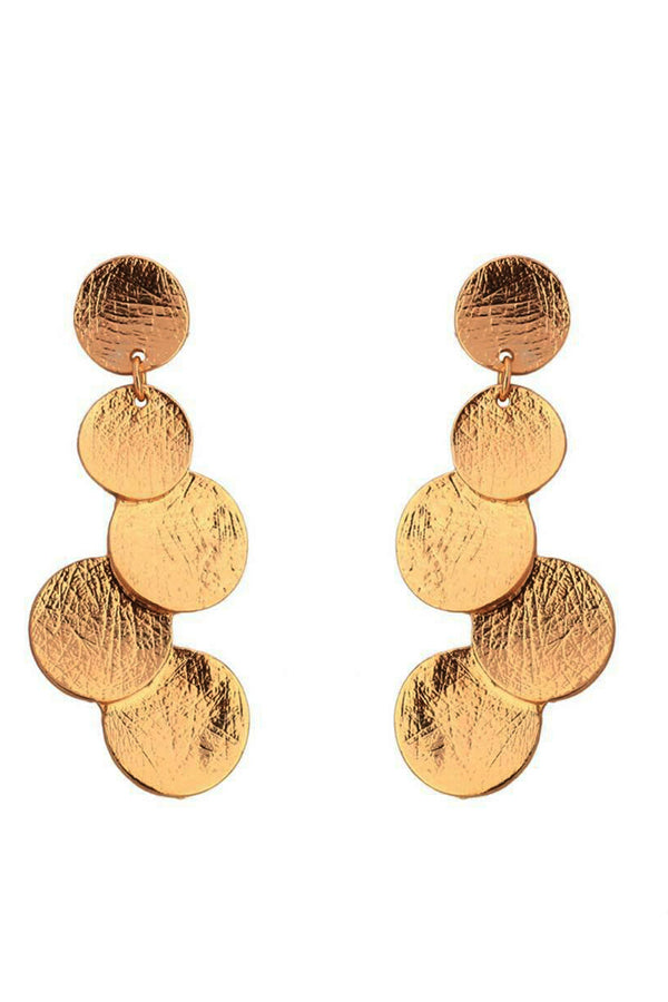 DROPLET SOLID EARRINGS - Mantra Pakistan