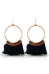 TASSEL RINGS EARRINGS