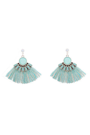 Mantra Pakistan SHORT TASSELS EARRINGS | ACCESSORIES