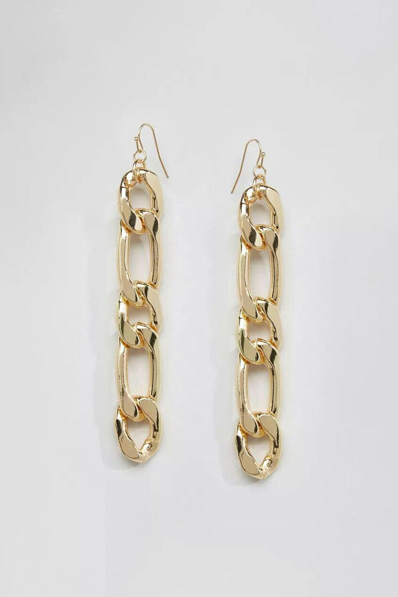 DROPPED CHAIN EARRINGS