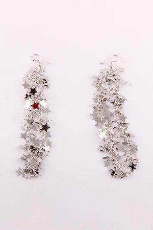 DANGLING STARS EARRINGS - Mantra Pakistan