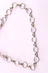 DANGLING RINGS CHAIN NECKLACE