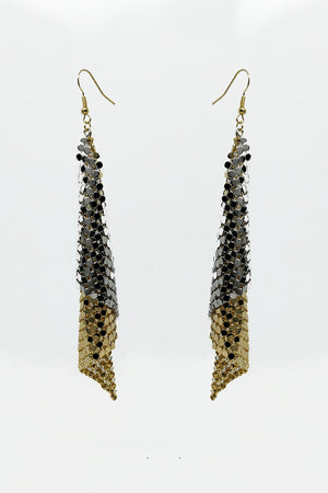 DANGLING MESH EARRINGS - Mantra Pakistan
