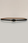 SLEEK FAUX LEATHER BELT