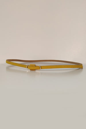 Mantra Pakistan SLEEK FAUX LEATHER BELT | ACCESSORIES
