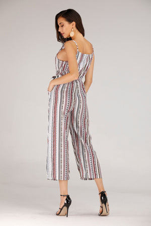 VERTICLE PATTERN JUMPSUIT