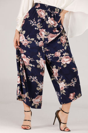 Mantra Pakistan FLOWY PANTS | BOTTOMS