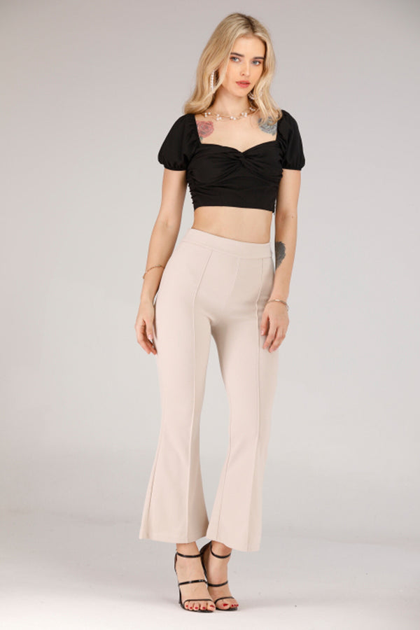 Mantra Pakistan BEIGE PANTS | BOTTOMS