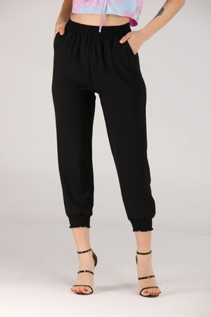 BLACK JOGGER PANTS - Mantra Pakistan