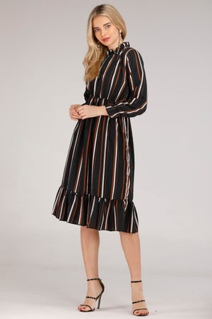 Striped long Dress