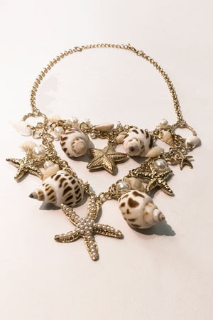 Star And Shell Necklace