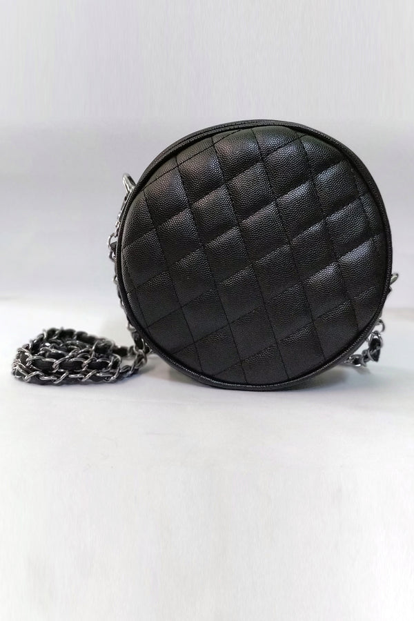 Mantra Pakistan Circle Quilted Bag | ACCESSORIES