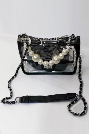 Clear Bag With Black Outline - Mantra Pakistan