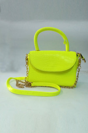 Mantra Pakistan Crocodile Handbag | ACCESSORIES
