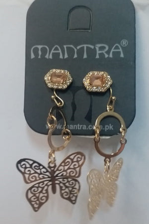 Mantra Pakistan Butterfly And Stud Pack | ACCESSORIES