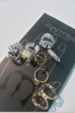 Mantra Pakistan Assorted Ring Pack | ACCESSORIES