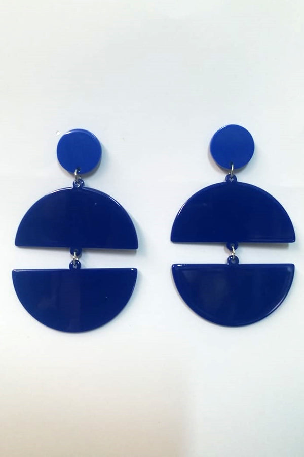 Mantra Pakistan Acrylic Circle Earring | ACCESSORIES
