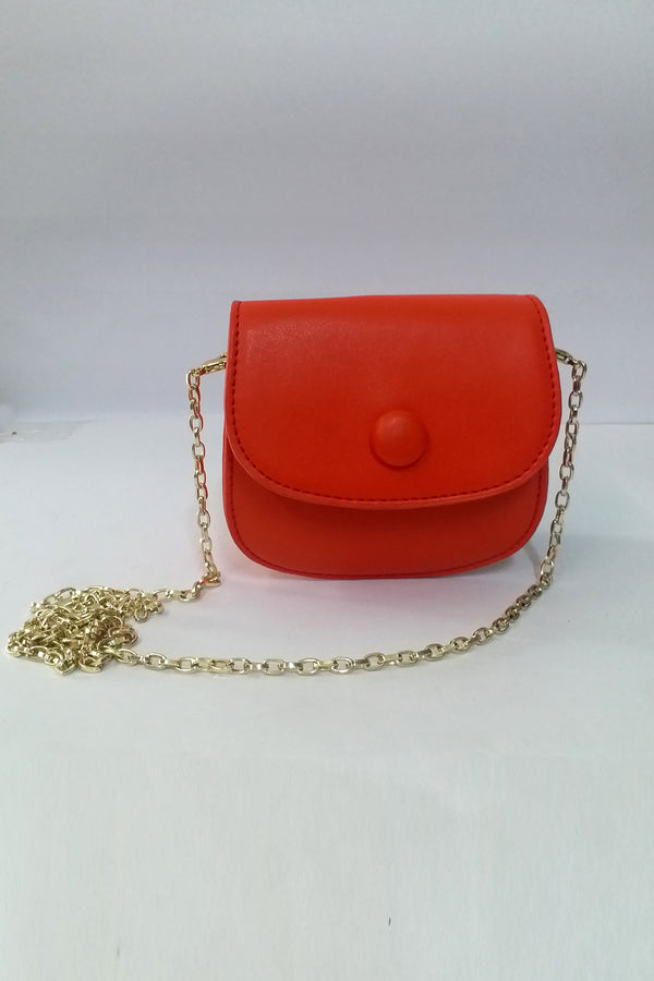 Mantra Pakistan Orange Small Bag | ACCESSORIES