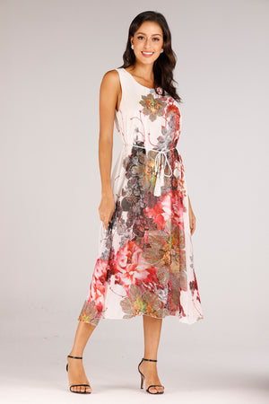 Mantra Pakistan Printed Dress | DRESS